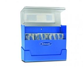 Actiomedic DETECT Pflasterbox 100 Strips 19 x 72 blau wasserabw.