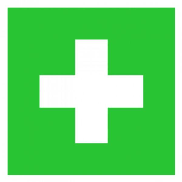 Erste hilfe symbol  Erste Hilfe Symbol, Aufkleber 10 x 10 cm | Beschilderung | Erste ...
