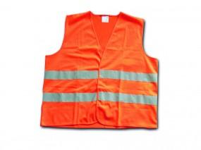 Warnweste DIN EN 471 - orange Einheitsgröße LARGE