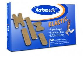 Actiomedic® ELASTIC Pflaster-Set Spezialverbände 50-tlg.