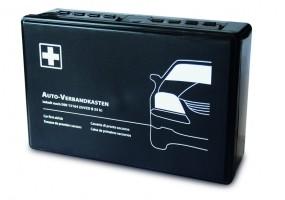 Kfz-Kasten (schwarz) mit DIN-Füllung 13 164