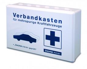Auto-Verbandkasten inkl. ÖNORM V5101, schwarz