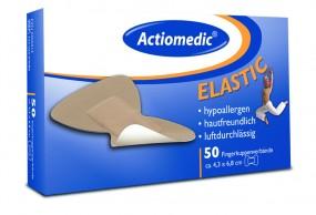 Actiomedic® ELASTIC Fingerkuppenverband, hautfarben, Pack á 50 Stück