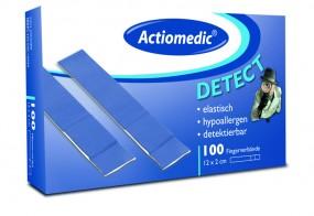Actiomedic® DETECT Fingerverbände, elastisch, 12 x 2 cm, Pack á 100 Stück