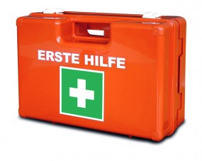 Verbandkoffer DOMINO, leerer Koffer