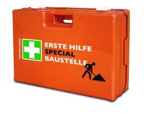 Verbandkoffer MULTI mit DIN-Füllung 13 157 SPECIAL Baustelle