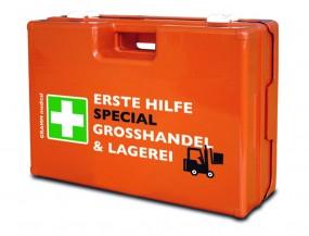 Verbandkoffer MULTI mit DIN-Füllung 13 157 SPECIAL Großhandel & Lagerei