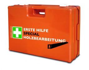 Verbandkoffer MULTI mit DIN-Füllung 13 157 SPECIAL Holzverarbeitung
