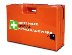 Verbandkoffer MULTI mit DIN-Füllung 13 157 SPECIAL Metallhandwerk