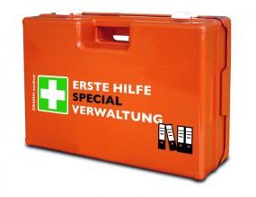 Verbandkoffer MULTI mit DIN-Füllung 13 157 SPECIAL Verwaltung