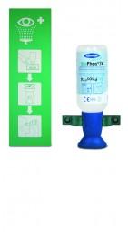 Actiomedic Augenspülstation SINGLE 2 mit 1 x 250 ml Flasche BioPhos74