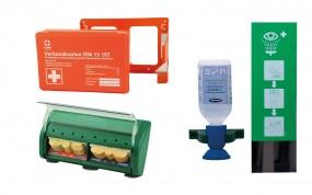Erste Hilfe SET für Betriebe DIN 13 157 (3 Teile ein Preis)