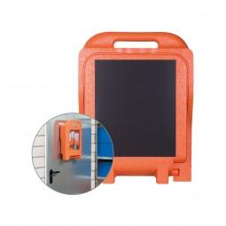 Magnetwandhalterung für alle Medi2Protect Augenspülstationen